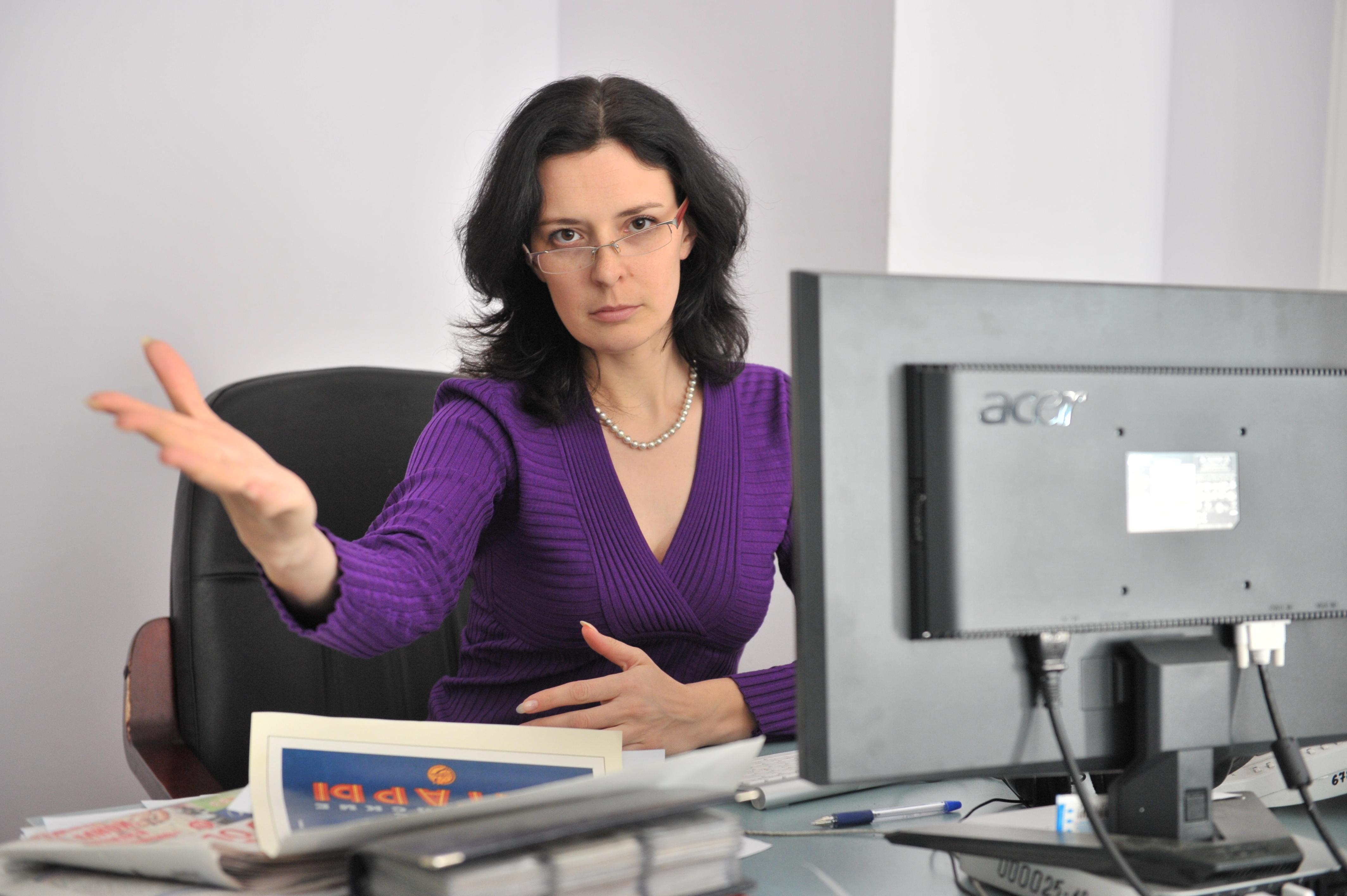 Начальник женщина картинки