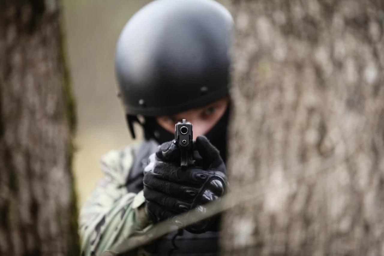 Спецоперация ФСБ по задержанию террориста на юге России попала на видео