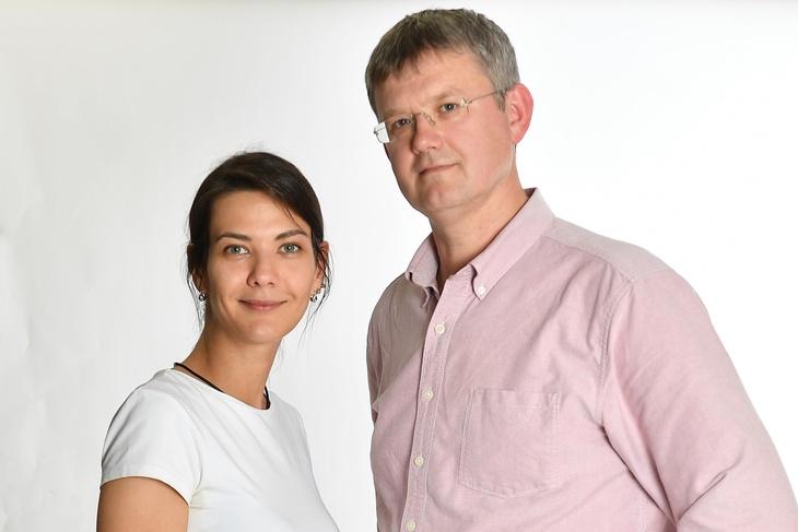 Сергей Мардан и Надана Фридрихсон