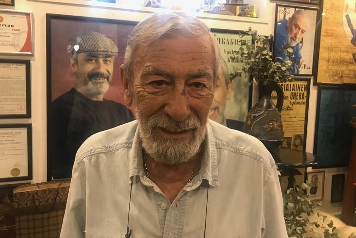 Вахтанг Кикабидзе: «Не могу приехать в Россию — не пою тем, кто хочет  побить»