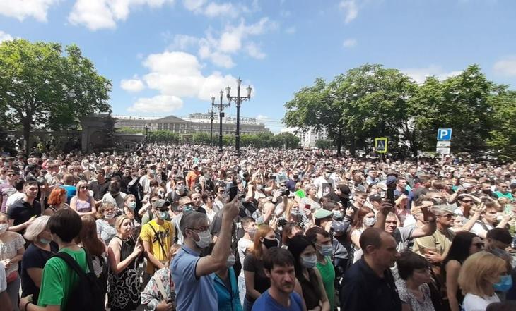 Политолог считает, что назначение Дегтярёва непотушит протест вХабаровске