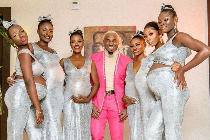 «Все дети от меня»: мужчина привел на свадьбу шестерых беременных женщин